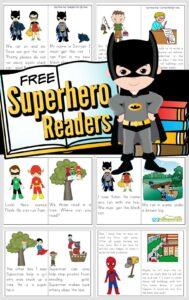 SuperHero Readers