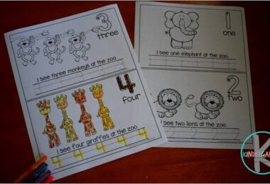 FREE Count to 10 Zoo Animals Emergent Reader