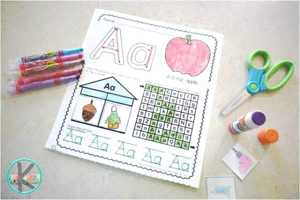 super cute and free alphabet worksheets