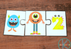 FREE Monster Counting and Addition Math Activity