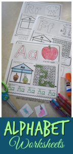 FREE Alphabet Worksheets for Prek and Kindergarten
