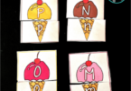 Ice Cream Alphabet Puzzles