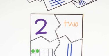 FREE Numbers 1-20 Puzzles