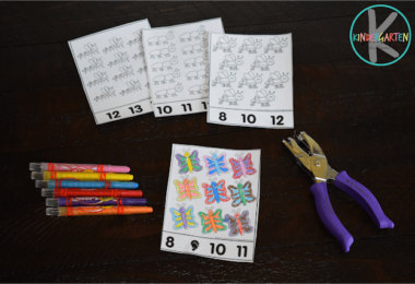 FREE Count to 30 Bugs Activity