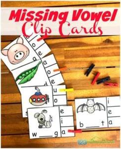 vowel activity