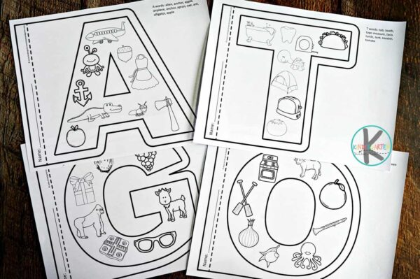 - FREE Alphabet Coloring Pages
