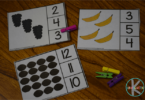 Count to 20 Fruit Clip Cards