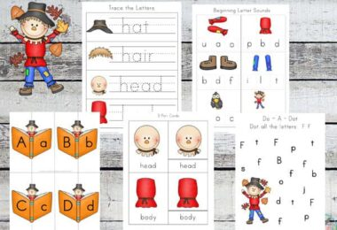 FREE Scarecrow Printable Pack