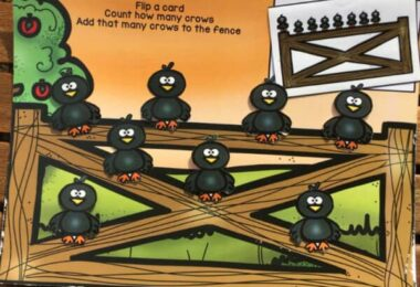FREE Fall Counting Crows Activity