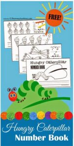 FREE The Hungry Caterpillars Numbers Book