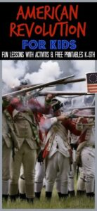 American Revolution for Kids us history lesson