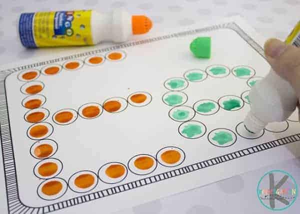 bingo dauber alphabet printables