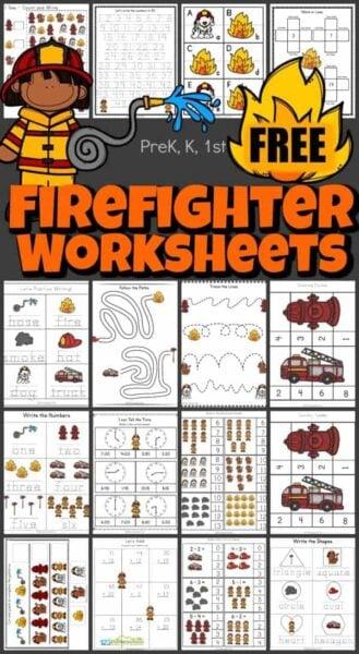 firefighter-worksheet