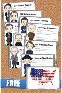 US presidents for kids fact book
