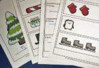FREE Winter Ruler Measurements Worksheets