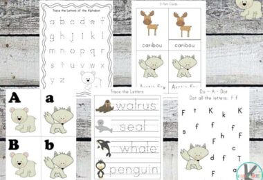 FREE Arctic Animals Printables