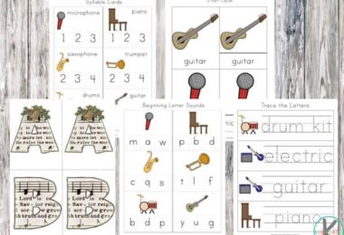 FREE Musical Instruments Worksheets