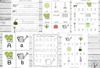 FREE Garden Printable Pack