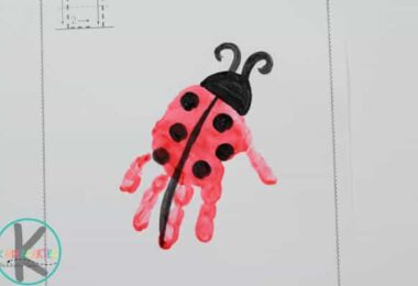 L is for Ladybug Alphabet Craft