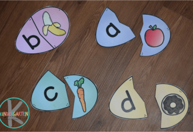 FREE Phonics Easter Eggs