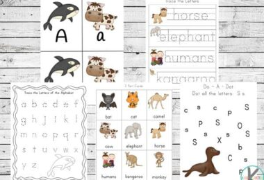 FREE Mammals Printable Pack