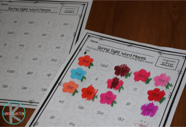 Free-Flower-Sight-Words-Maze-Worksheets
