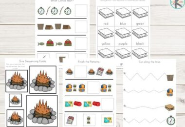 FREE-Camping-Worksheets
