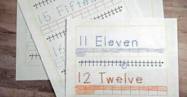 Free Teen Number Sense Worksheets