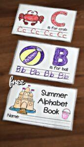 Summer Handwriting Worksheets