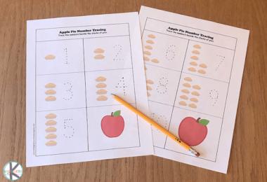 Apple-Math-Worksheets