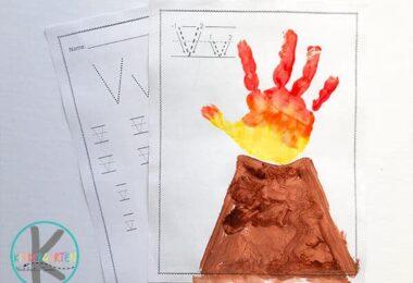 V-is-for-Volcano-handart