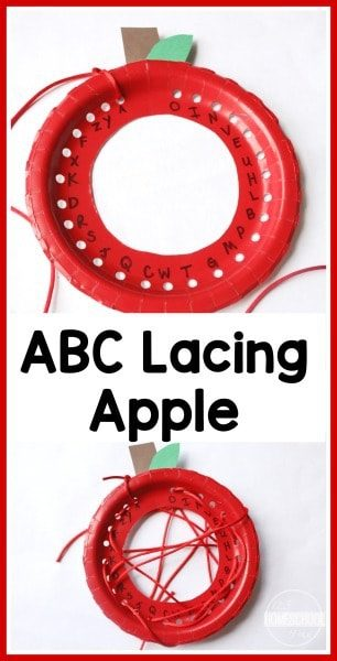 ABC Apple Lacing ACtivity