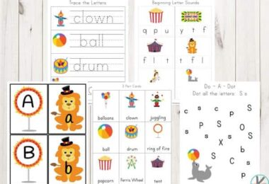 Circus-Worksheets