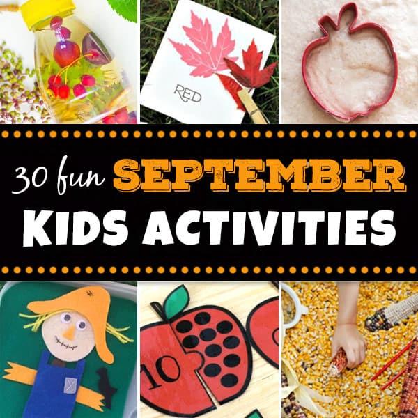 September Kids Activities