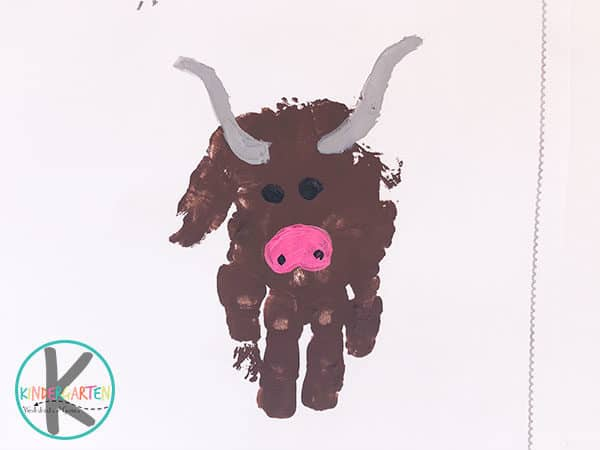 y is for yak hand art craft for toddler preschool kindergarten