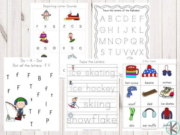 alphabet-free-printable-winter-worksheets