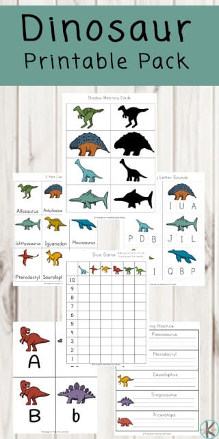 Dinosaur Printable Pack
