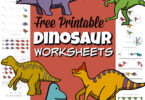 Take a trip back in time with these fabulous Dinosaur Printables. These dinosaur worksheets are perfect for the little ones who love these pre-historic animals and are looking to work on some math and literacy skills. The dinosaur activities inthesefree printable dinosaur worksheets are perfect for toddler, preschool, pre-k, kindergarten, and first graders. Use thedinosaur free printables for adinosaur theme, extra practice, or just to follow your child's interets. Simply print free dinosaur printables and you are ready to play and learn!
