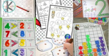 FREE Kindergarten Worksheets