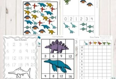FREE Dinosaur Printable Pack