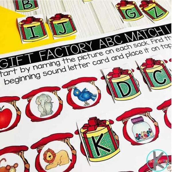 Christmas-Beginning-Sounds-Matching-Activity