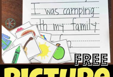 These super cute, free printablepicture writing prompts kindergarten are a great way to help children get excited about writing. These picture writing prompts, pre-k, and grade 1 students are sure to make writing fun instead of a chore. Simply download pdf file with thekindergarten writing prompts with pictures and you are ready for this low prep kindergarten writing activity!