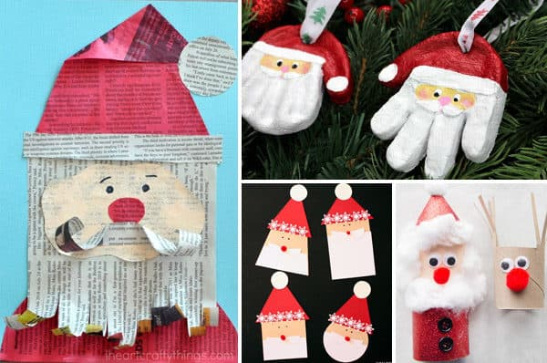 Santa-crafts-for-kids