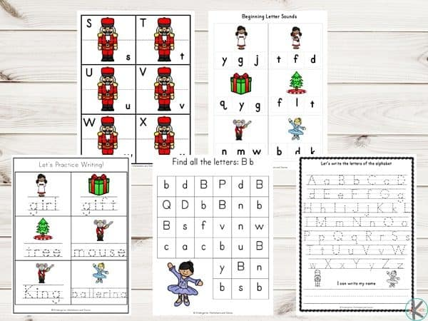 graphic relating to Nutcracker Worksheets Printable named Cost-free Nutcracker Printable Pack Kindergarten Worksheets and