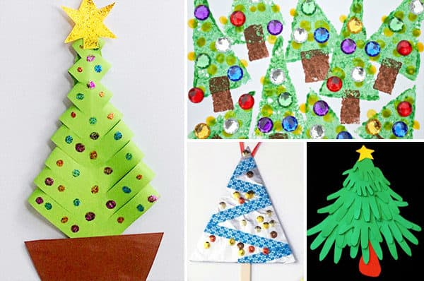 christmas-tree-crafts-for-kids