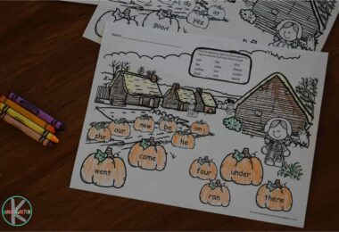 thanksgiving-kindergarten-sight-words-worksheets