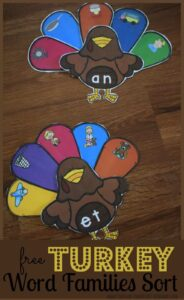 turkey-word-families-sorting-activity-free