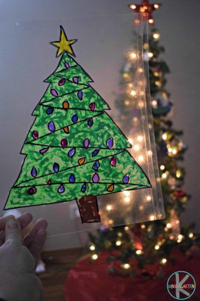 Christmas-Tree-Sun-catcher-Craft