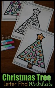 Free-Christmas-Tree_letter-Find-Worksheets
