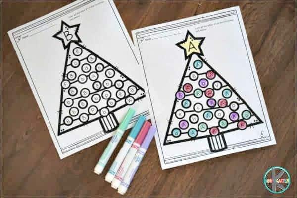 Free Christmas Worksheets